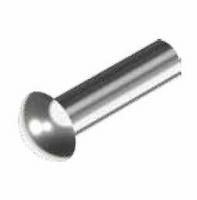 Roestvrijstalen bolkop klinknagel 2 x 8 mm