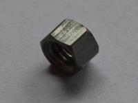 Stalen modelzeskant moer Hoog M2,5