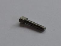 Modelbouwbout Staal M2 x 4mm met verhoogde kop  Per 10 stuks