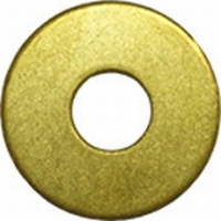Messing carrosserie Ring M4 volgens DIN9021  Per 25 stuks