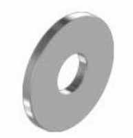 Vlakke Roest Vrij Stalen carrosserie Ring M4 volgens DIN9021