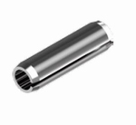 Spanstift 2mm rond lengte 10mm Per 10 stuks