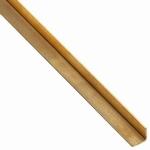Messing Hoek profiel 7 x 7 mm Per Stuk