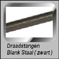 Draadstangen blank staal