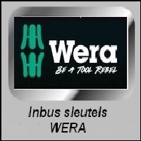 Inbus Schroevendraaiers Wera