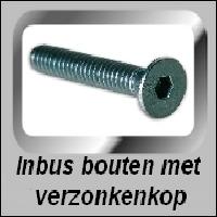 Inbus verzonken kop DIN 7991