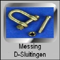 Messing D-Sluitingen