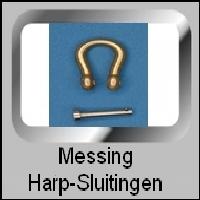 Messing Harp-Sluitingen