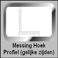 Messing Hoek Profiel