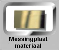 Messing plaatmateriaal