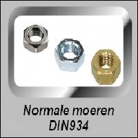 Normale moeren DIN 934