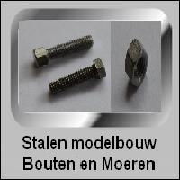 Stalen Modelbouw bouten en moeren