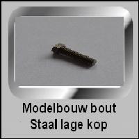 Stalen Modelbouw Bouten met Lage kop