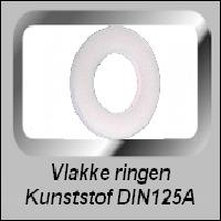 Vlakke Kunststof Ringen