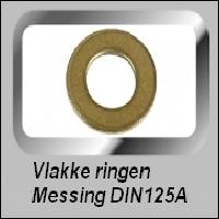 Vlakke Messing Ringen