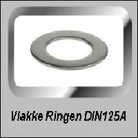 Vlakke Ringen DIN 125A