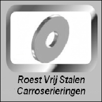 Vlakke Roest Vrij Stalen CarroserieRingen