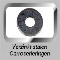 Vlakke Verzinkte CarroserieRingen