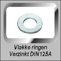Vlakke Verzinkte Ringen
