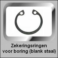Zekeringsring voor boring DIN471  Blank Staal