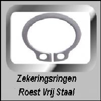 Zekeringsringen DIN 471 Roest Vrij Staal